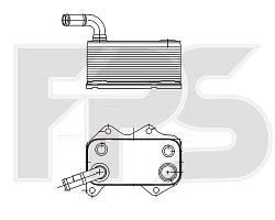 Радиатор маслянный Volkswagen / Audi / Skoda / Seat (NRF) FP 12 B41-X