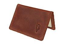 Обложка для водительских документов прав удостоверений ID паспорта SULLIVAN odd10(4) светло-коричневый
