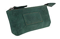 Ключница кожаная сумочка для ключей SULLIVAN k7(5.5) зеленая
