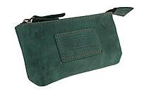 Ключниця шкіряна сумочка для ключів SULLIVAN k7(5.5) зелена