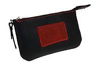 Ключниця шкіряна сумочка для ключів SULLIVAN k10(5.5) чорна