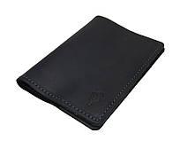 Обложка для паспорта кожаная SULLIVAN odp1(3) черная