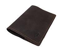 Обложка для паспорта кожаная SULLIVAN odp2(3) коричневая
