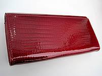 Женский кожаный кошелек Balisa В826-2 красный Лаковые кошельки Balisa оптом, фото 2