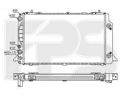 Радиатор охлаждения двигателя AUDI  80 / 90 1991-1994