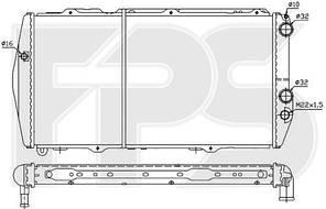 Радиатор охлаждения двигателя Audi 100 (FPS) FP 12 A848-P
