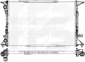 Радиатор охлаждения двигателя Audi A4 B8 / Audi Q5 (FPS) мех. сборка
