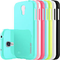 Чехол Caseology Samsung S4 бирюза. белый. розовый глянец