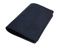 Обложка для паспорта кожаная SULLIVAN odp4(3) синяя