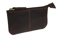 Ключниця шкіряна сумочка для ключів SULLIVAN k13(4) коричнева