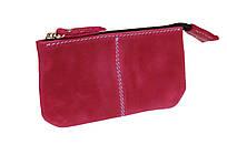 Ключниця шкіряна сумочка для ключів SULLIVAN k14(4) фуксія