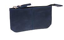 Ключница кожаная сумочка для ключей SULLIVAN k16(4) синяя
