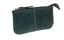 Ключниця шкіряна сумочка для ключів SULLIVAN k17(4) зелена