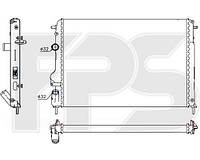 Радиатор охлаждения двигателя Dacia Logan / Renault Megane (AVA) FP 27 A399