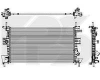 Радиатор охлаждения двигателя FORD  C-MAX 2010-