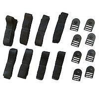 Набор ремешков для солярного покрытия бассейна. Ремни крепления пленки к трубе K936 Kokido