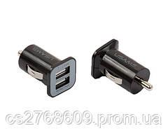 Автомобільний зарядний пристрій+USB iPhone 4G GRIFFIN чорні