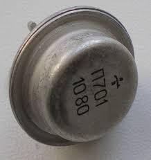 П701 ТО-3 транзистор кремниевый усилительный NPN (0,5А 40В) 10W