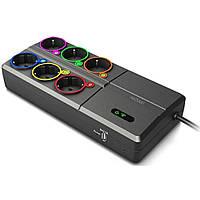 Сетевой фильтр питания Nomi умный SOW019 с Wi-Fi (381251)