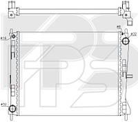 Радиатор охлаждения двигателя Renault Clio III / Symbol (AVA) FP 56 A239