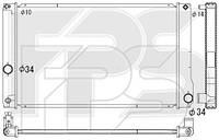 Радиатор охлаждения двигателя Toyota Auris E15 / E18 / Prius (AVA) FP 70 A209-X
