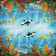 Декупажная салфетка Подводный мир 4982