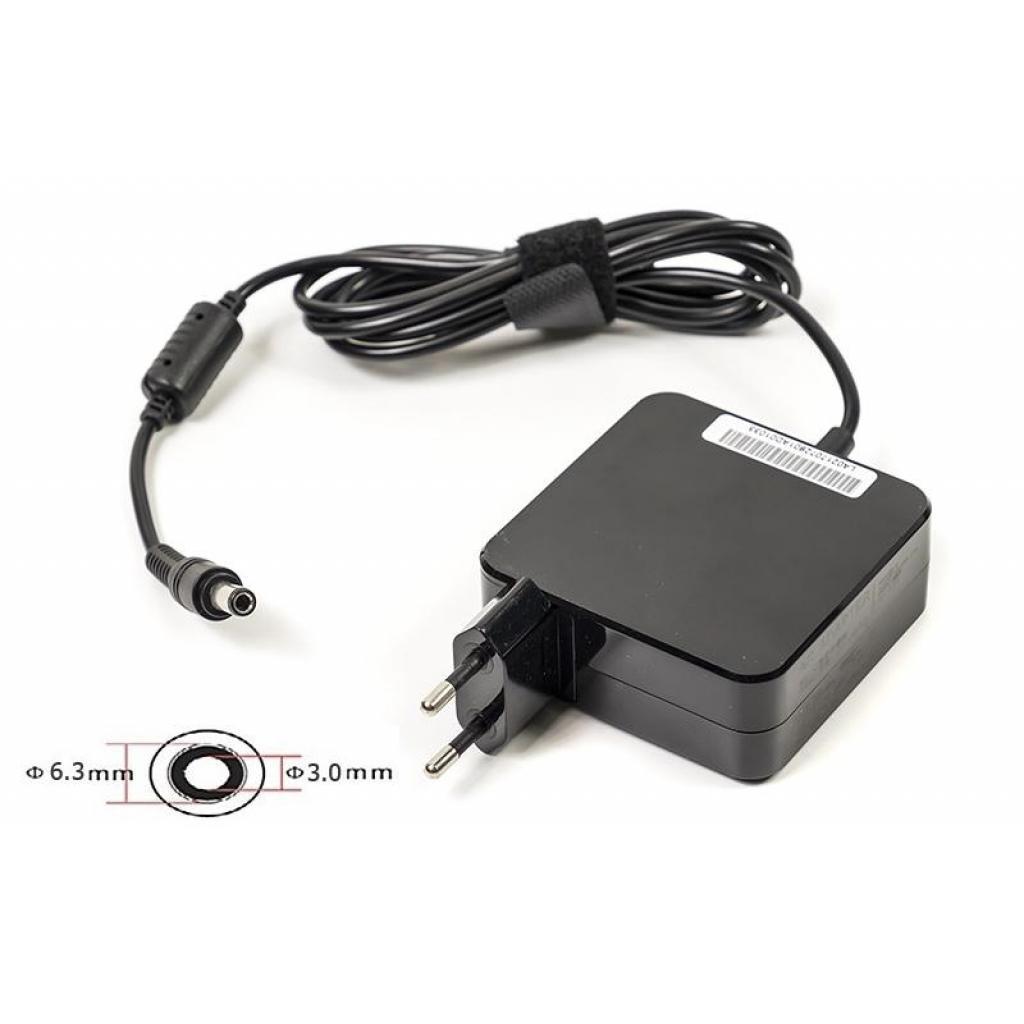 Блок питания к ноутбуку PowerPlant TOSHIBA 220V, 19V 60W 3.16A (6.3*3.0) wall mount (WM-TO60F6330)