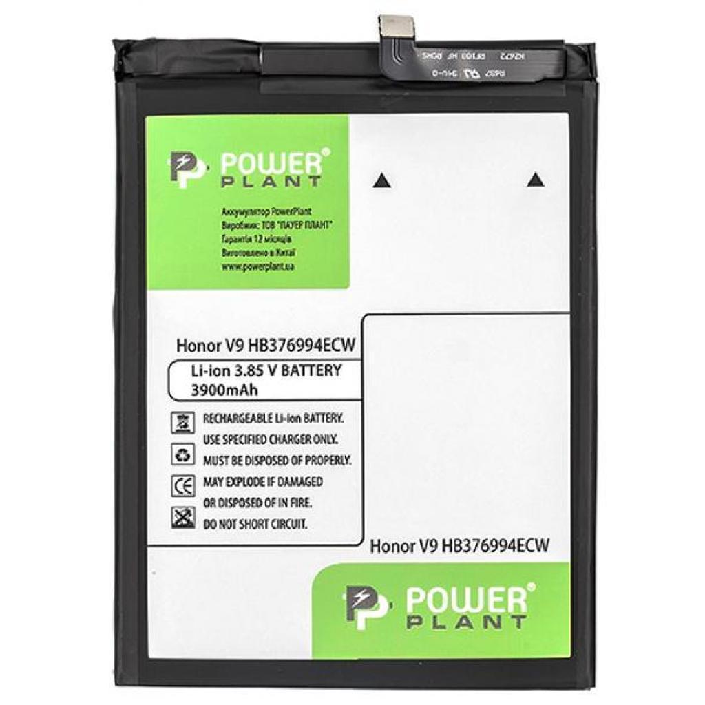 Аккумуляторная батарея PowerPlant Huawei Honor V9 (HB376994ECW) 3900mAh (SM150182)