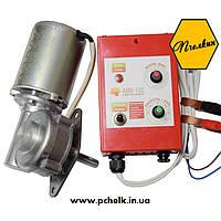 Привод медогонки электрический (пульт управления + мотор-редуктор) Модель 1 - Механический