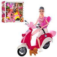 Кукла Sariel со скутером музыкальный 5533