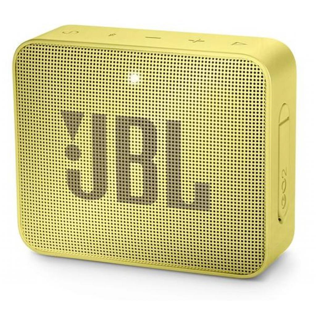 Акустическая система JBL GO 2 Yellow (JBLGO2YEL)
