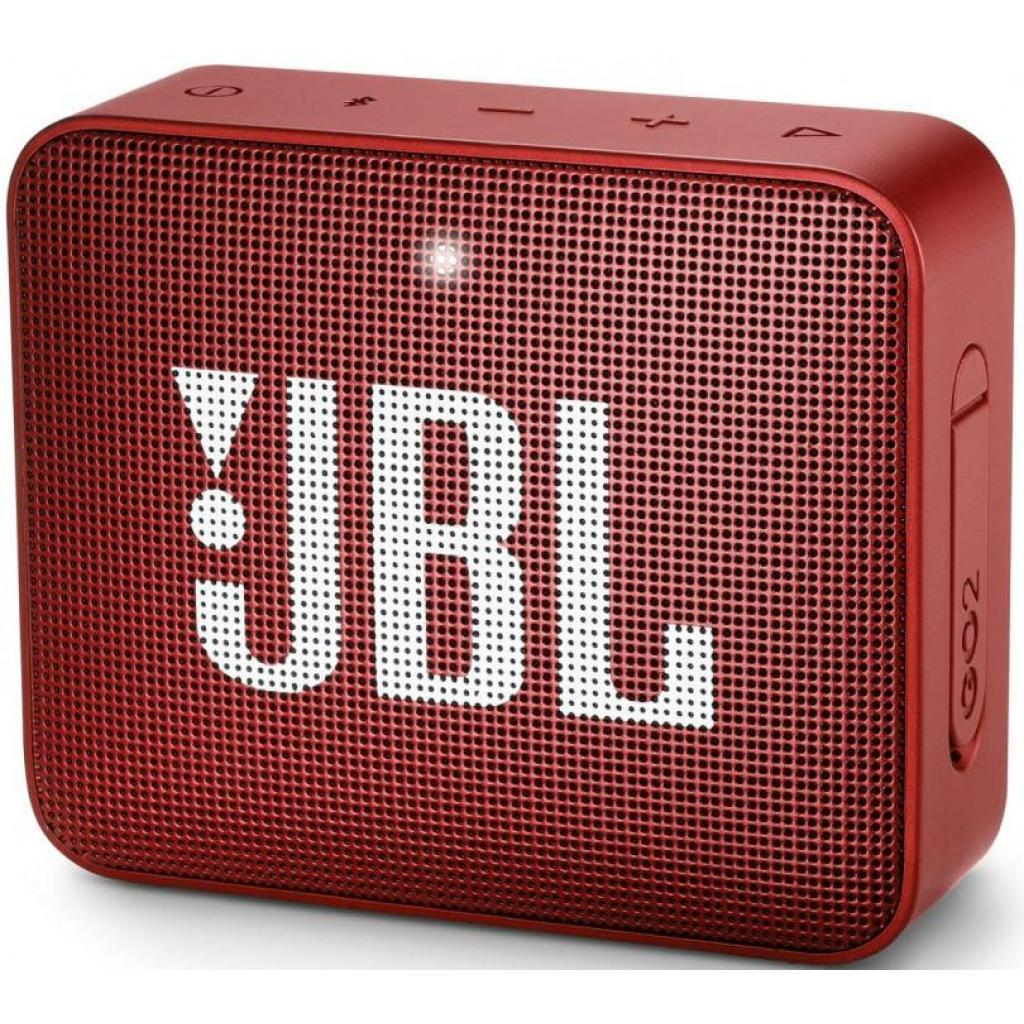 Акустическая система JBL GO 2 Ruby Red (JBLGO2RED)