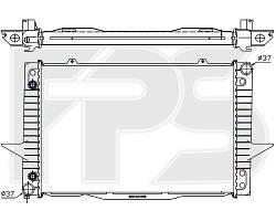 Радиатор охлаждения двигателя Volvo 840 / 850 / C70 / S70 (AVA) FP 72 A488-X