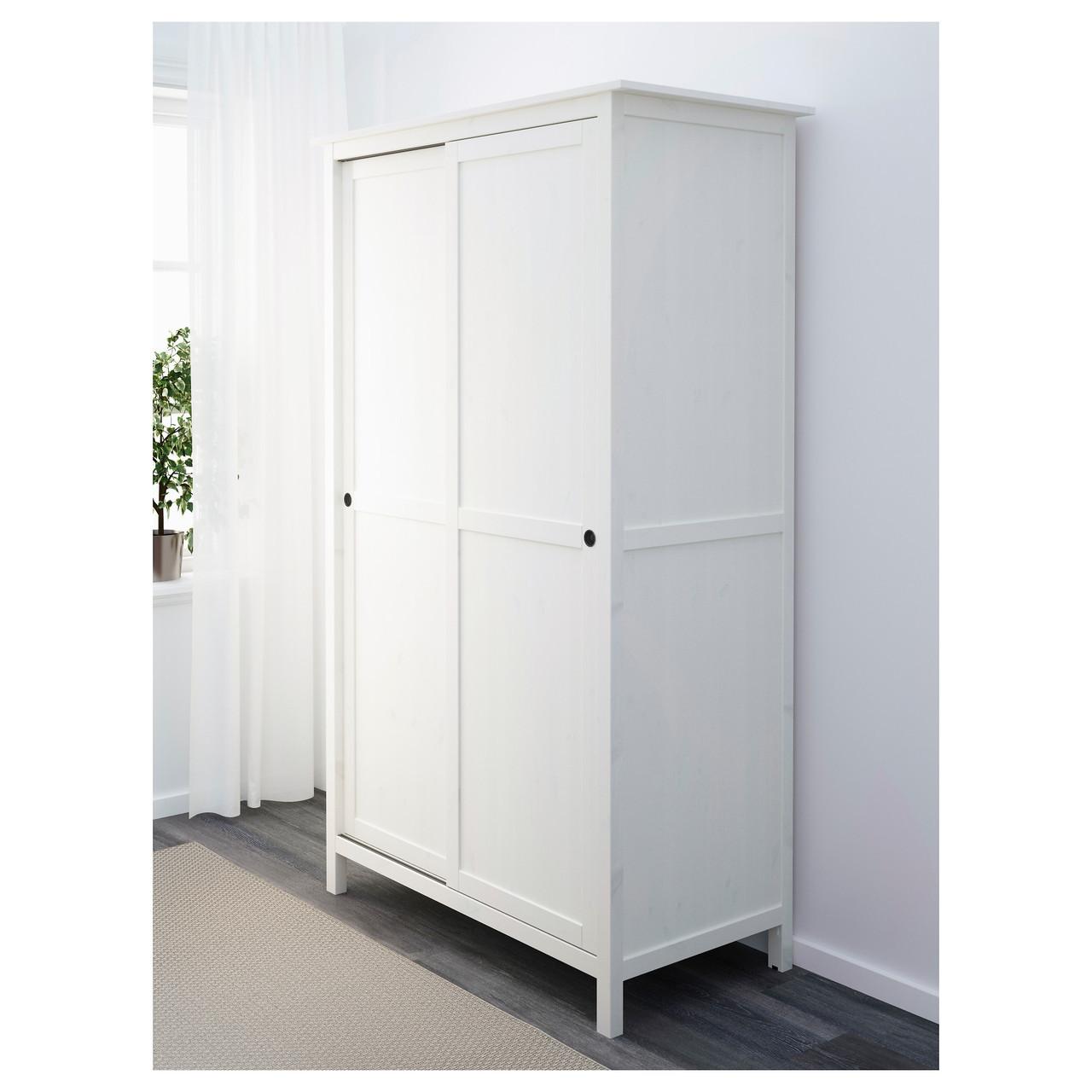 Шкаф с раздвижными дверями HEMNES