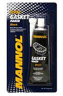 Герметик высокотемпературный черный MANNOL Gasket Maker Black, 85г