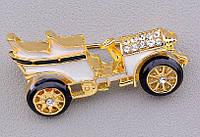 Гарненька брошка старовинна машина від студії LadyStyle.Biz, фото 1
