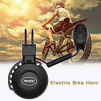 Электронный велосипедный звонок на литиевой батареи. Вело сигнал очень громкий 120 Дб Black