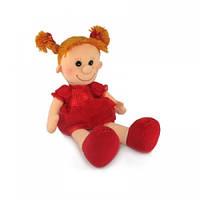 Мягкая музыкальная игрушка Lava Кукла Майя в красном платье 28 см