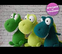 Динозаврики - Handmade вязаные игрушки Экоигрушки подарок ребенку Динозавр