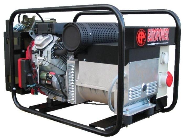 Однофазный бензиновый генератор EUROPOWER EP12000E (12 кВт)