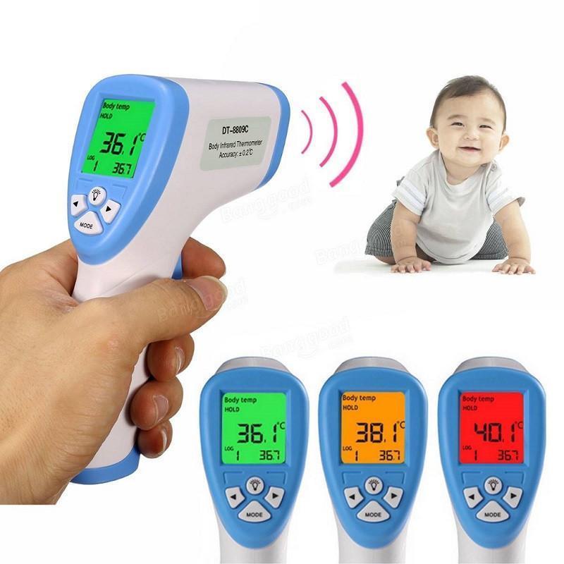 Инфракрасный бесконтактный термометр (градусник) для детей NON CONTACT