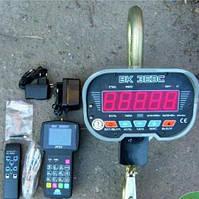 Весы крановые 5 тонн с индикацией на пульте