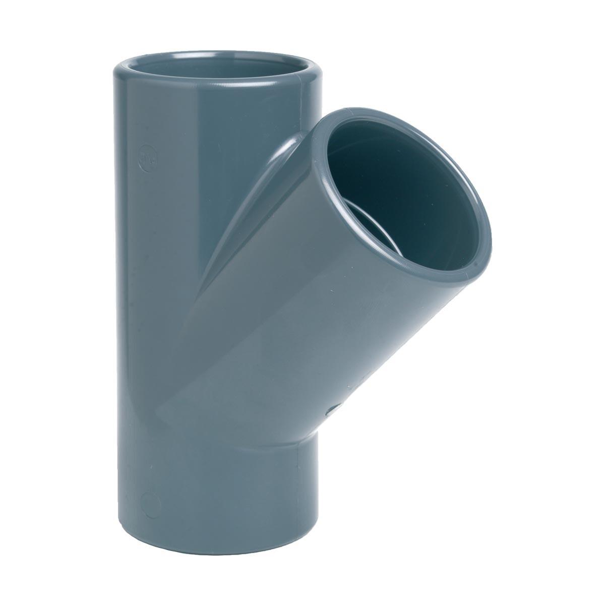 Тройник клеевой 45° EFFAST d32 мм (RDRTYD0320)