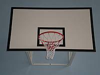 Щит баскетбольный 1800Х1050мм из ламинированной влагостойкой фанеры,с антивибрационной металлической рамой