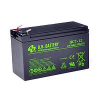 Свинцово-кислотная аккумуляторная батарея BС7-12 FR BB Battery