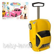 Детский чемодан-машина ЖЕЛТЫЙарт. 1211