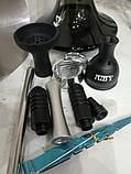 Кальян AMY.   Alpha Hookah   комплекте Калауд рифленый  и чаша сликоновая шланг софт тач, фото 6