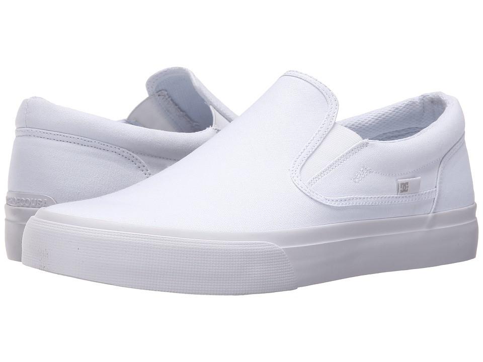 Кроссовки/Кеды DC Trase Slip-On TX White/White