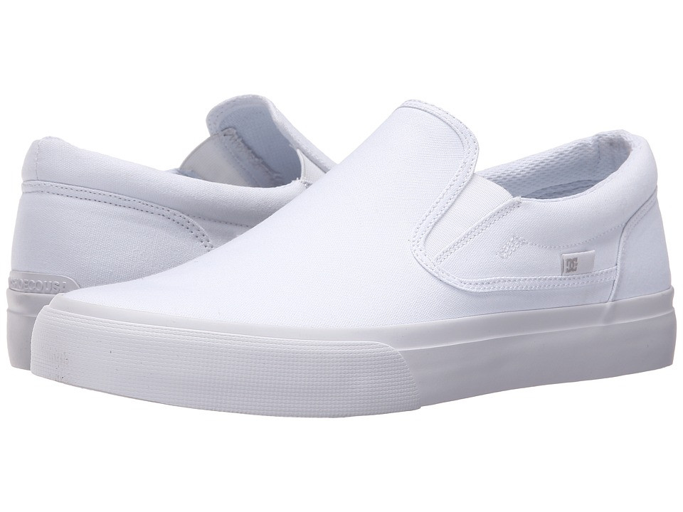 Кроссовки/Кеды DC Trase Slip-On TX White/White