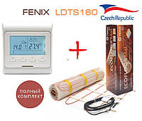 Теплый пол Fenix LDTS160/10 м² нагревательный мат с программируемым терморегулятором E51